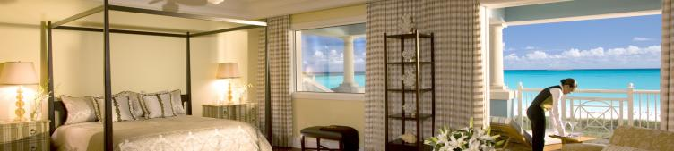 Sandals Emerald Bay Prime Minister Honeymoon One Bedroom Beachfront Walkout Butler Villa Suite